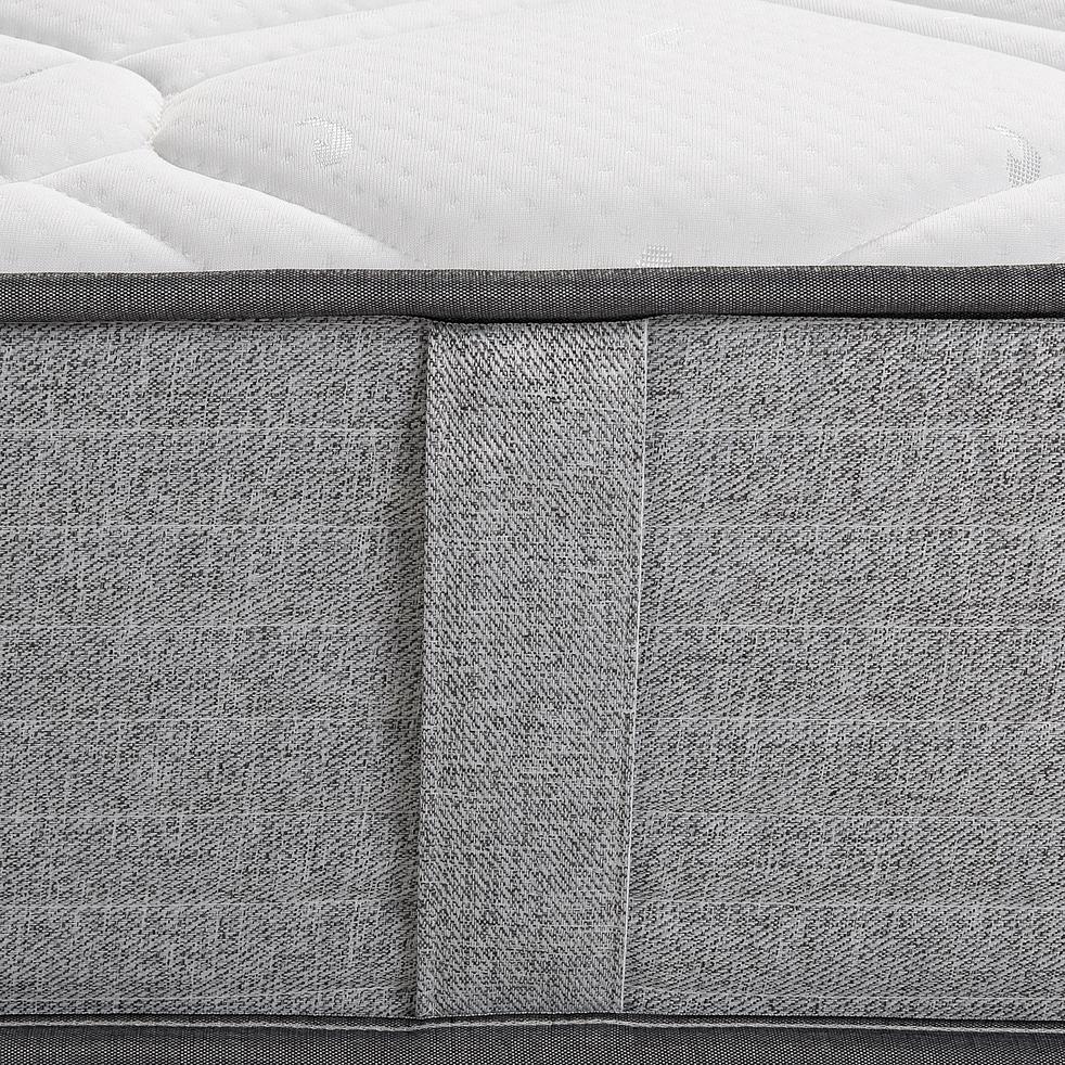 Matelas ressorts Edonia gris clair 90x190cm H25cm-ROCCAS