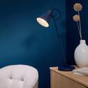 Lampe à poser bleu myrte H65cm-BEYA