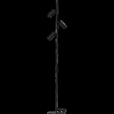 Lampadaire en métal noir H150cm-ROSALIE