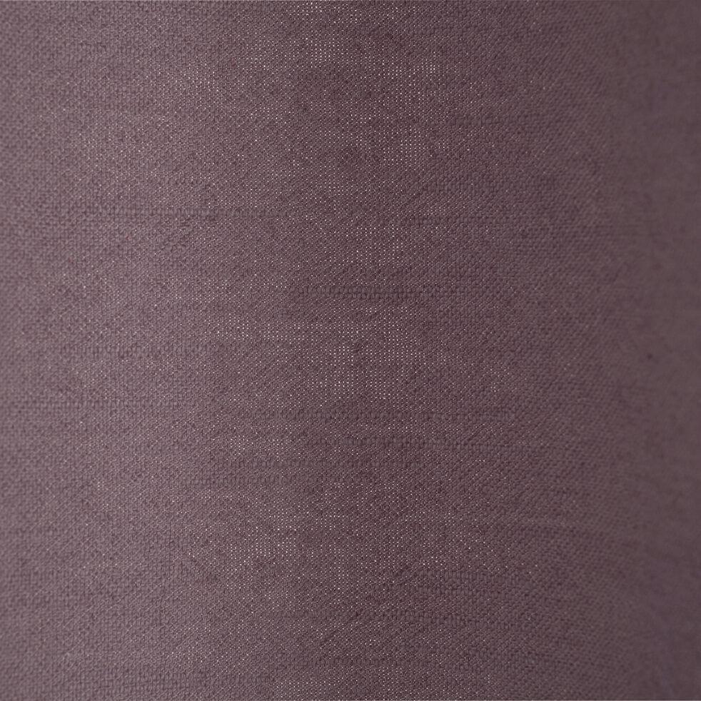 Rideau à oeillets en ramie gris restanque 130x250cm-RAMY