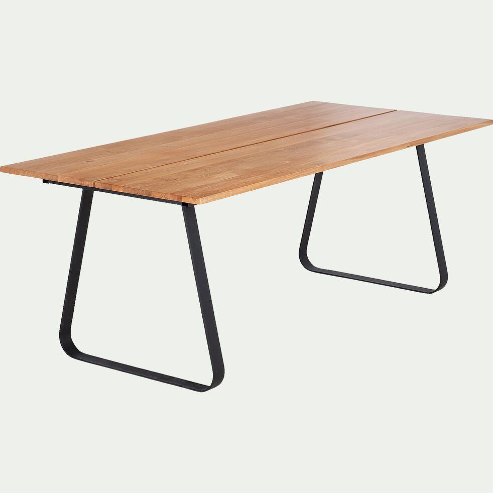 Table de repas en chêne massif - (L200cm) 8 places-FANNY