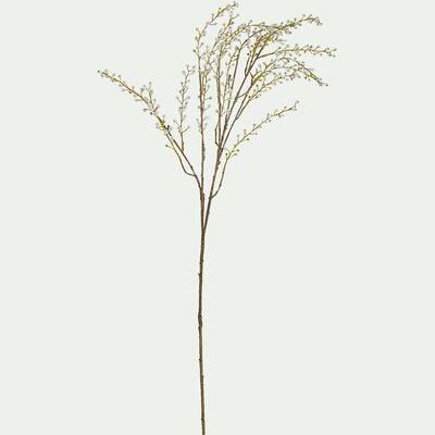 Branchage artificiel bourgeonnant - blanc H83cm-WILLOW