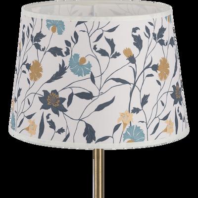 Abat-jour tambour motif floral D23cm-ASMARA
