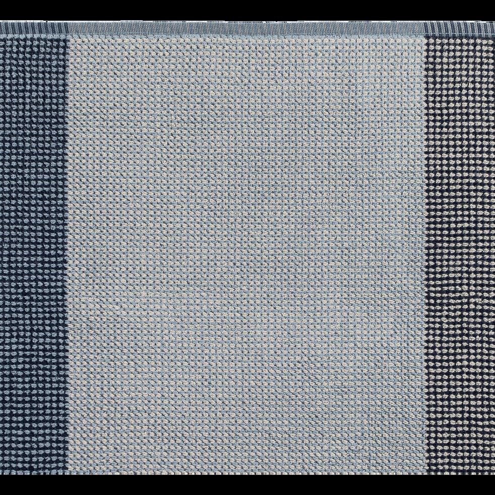 Serviette 50X100cm bleu-HUGO