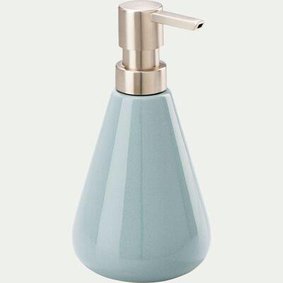 Distributeur de savon en pierre - bleu calaluna-EUPHORBE