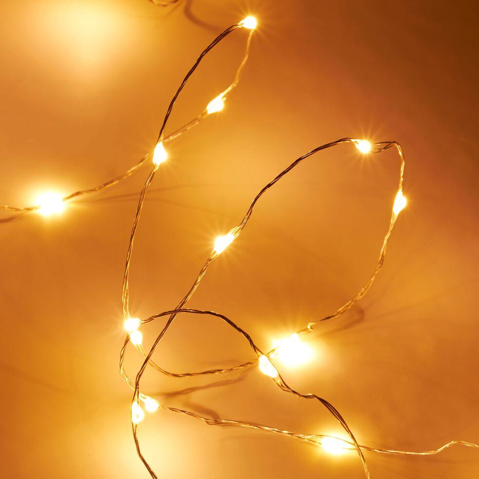 Guirlande lumineuse 600cm - 120LED blanc chaud-TUBEMICRO
