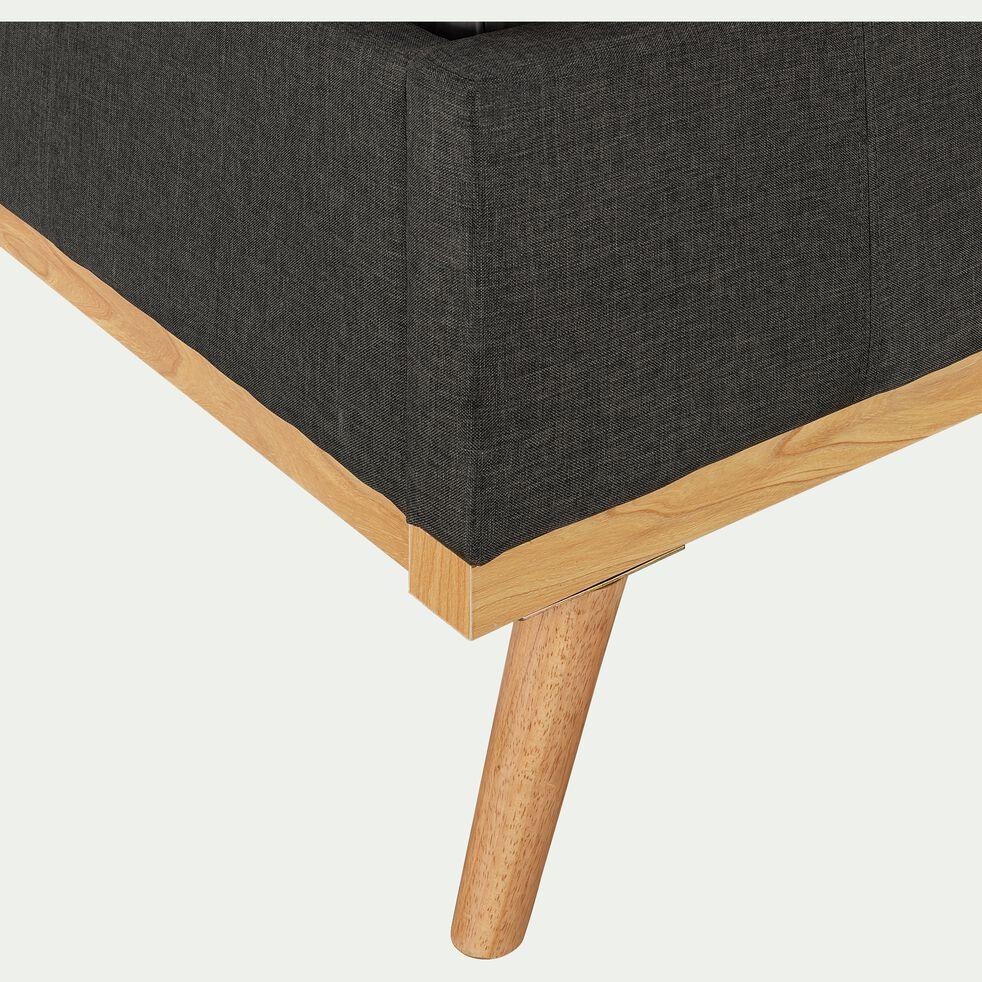 lit-coffre recouvert de tissu 160x200cm-LUNA