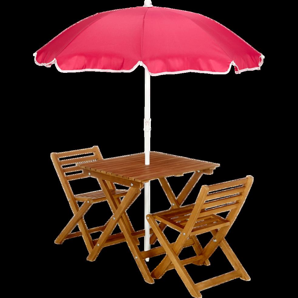 Table de jardin pour enfant en acacia-SOLA