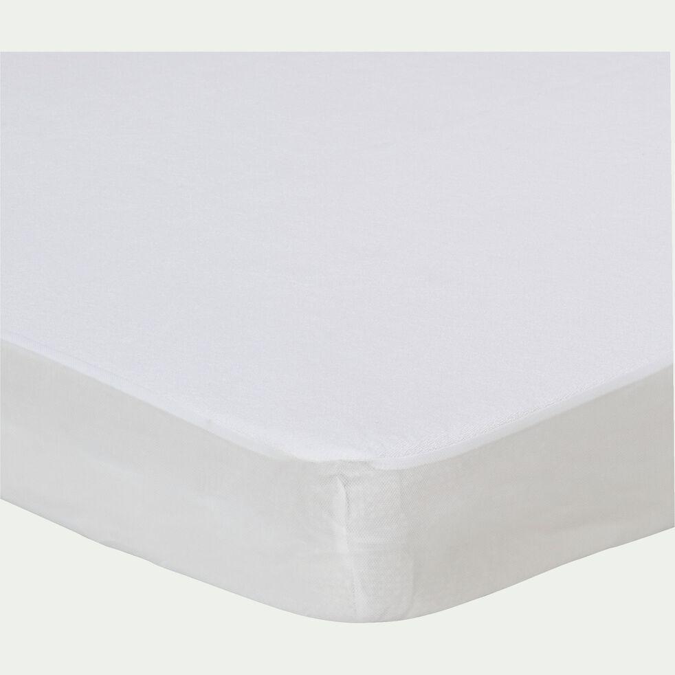 Protège-matelas imperméable en coton 140x200 cm bonnet 28cm-Healthy