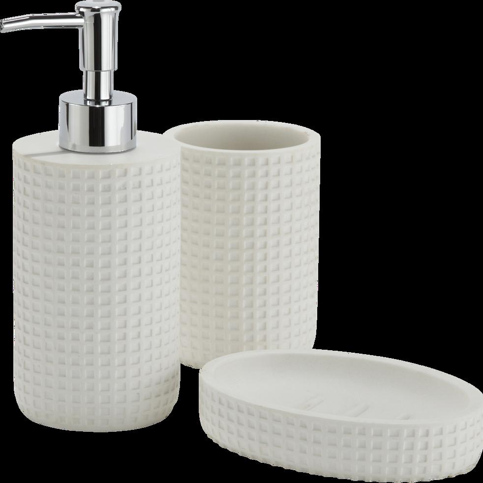 Porte-savon blanc ventoux-LOUBET