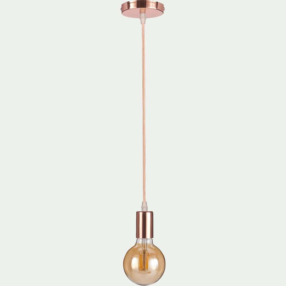 Cordon électrique avec douille cuivrée H100cm-SAVANA