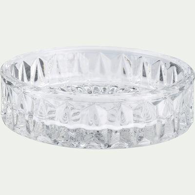Coupelle en verre transparent D9,4cm-Migno