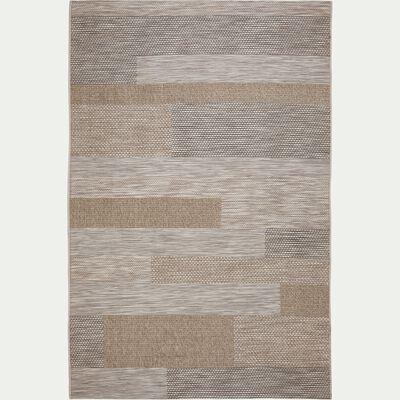 Tapis à motifs - marron 120x170cm-CAPUCINE