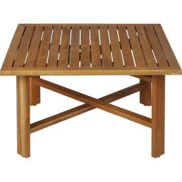 Table basse en acacia L70xH40cm-ESCALET