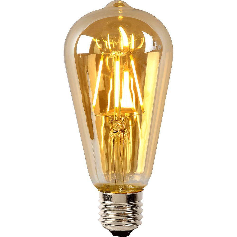 Ampoule décorative st64 à filament h14,6cm...