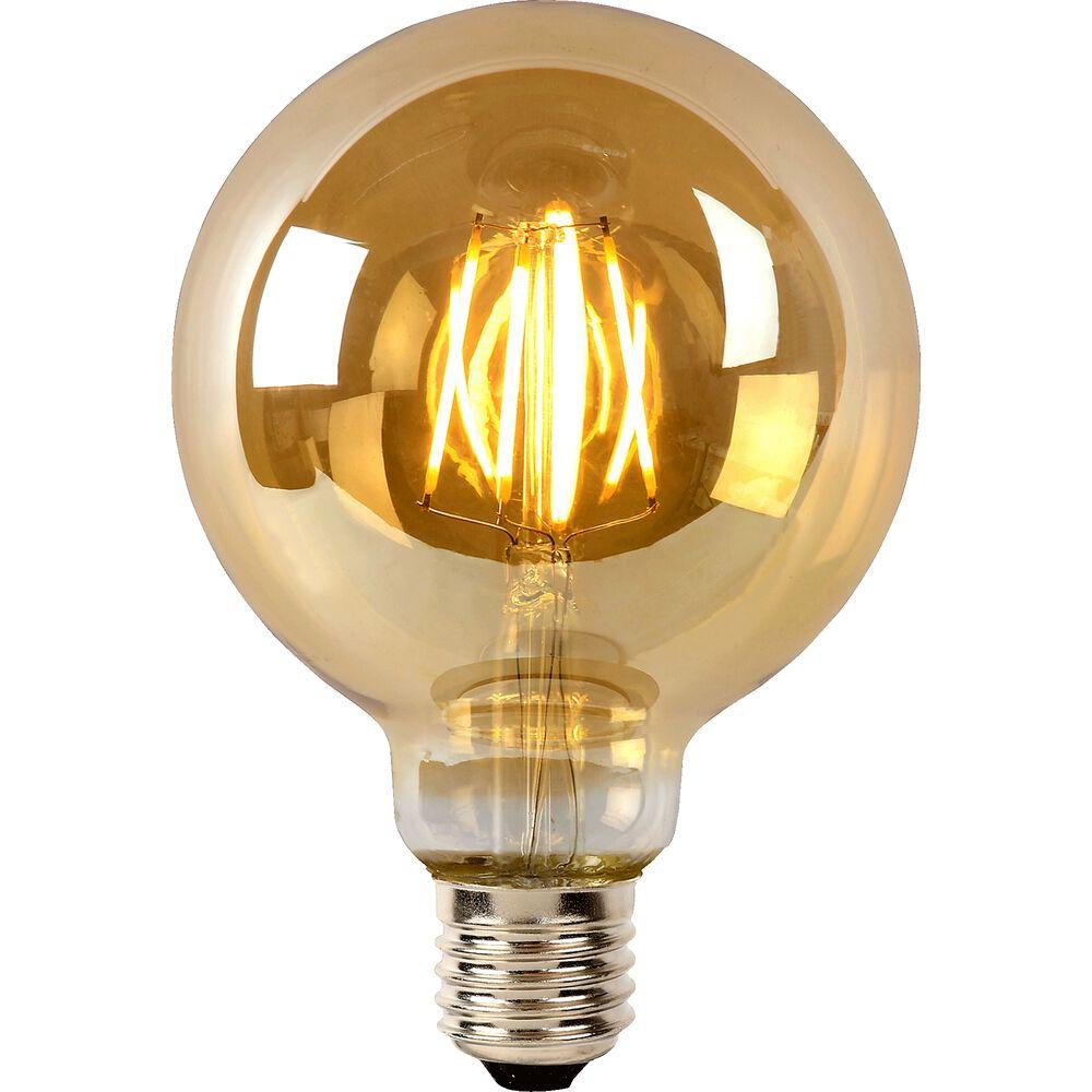 Ampoule décorative à filament forme globe d9,5...