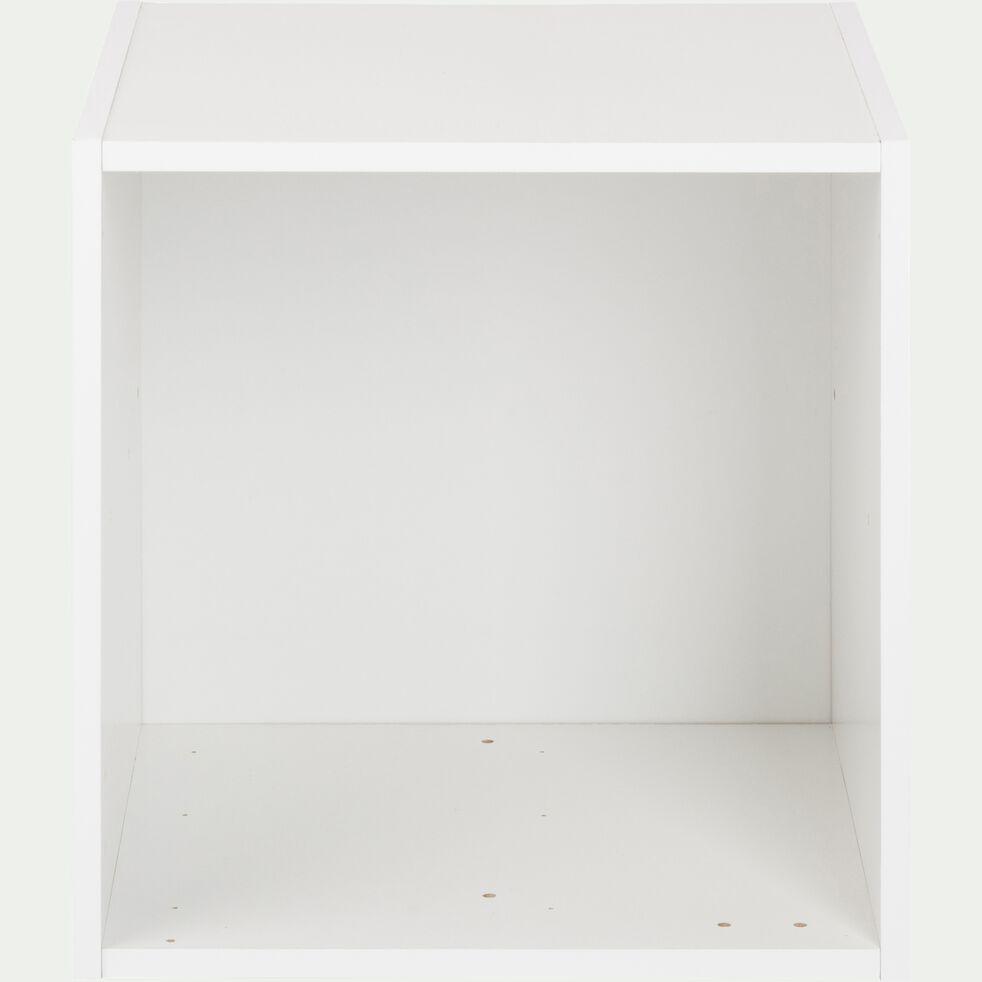 Structure 1 case en bois H35cm - blanc-Zac