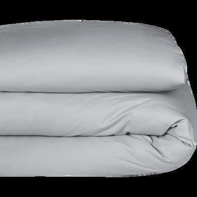 Housse de couette Gris borie 140x200cm-CALANQUES
