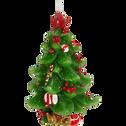 Bougie sapin de Noël H11,5cm-BLASIO
