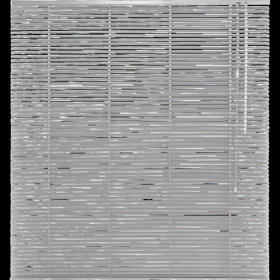 Store vénitien en aluminium gris 150x175cm-VENITIEN AL