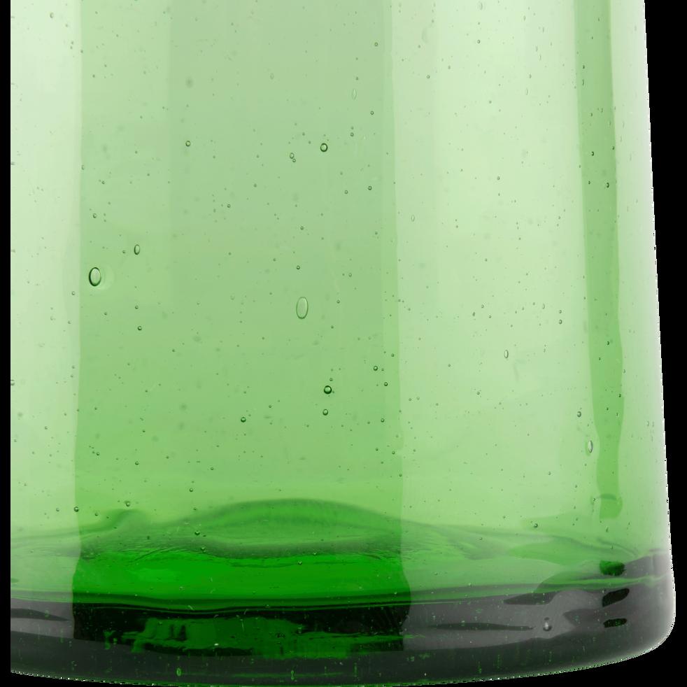 Verre vert en verre recyclé soufflé à la bouche 25cl-BELDI