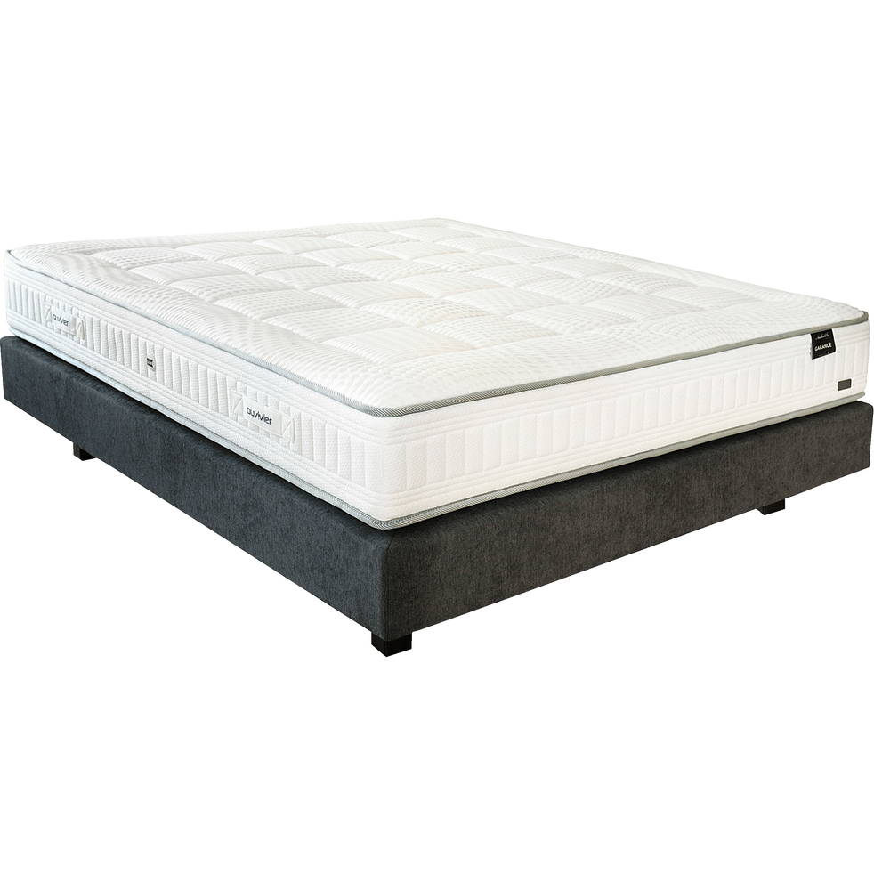 matelas ressorts ensach s duvivier 26 cm 160x200 cm garance 160x200 cm catalogue. Black Bedroom Furniture Sets. Home Design Ideas