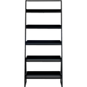 Etagère 5 tablettes en bois et métal noir L80cm-ESTANIER
