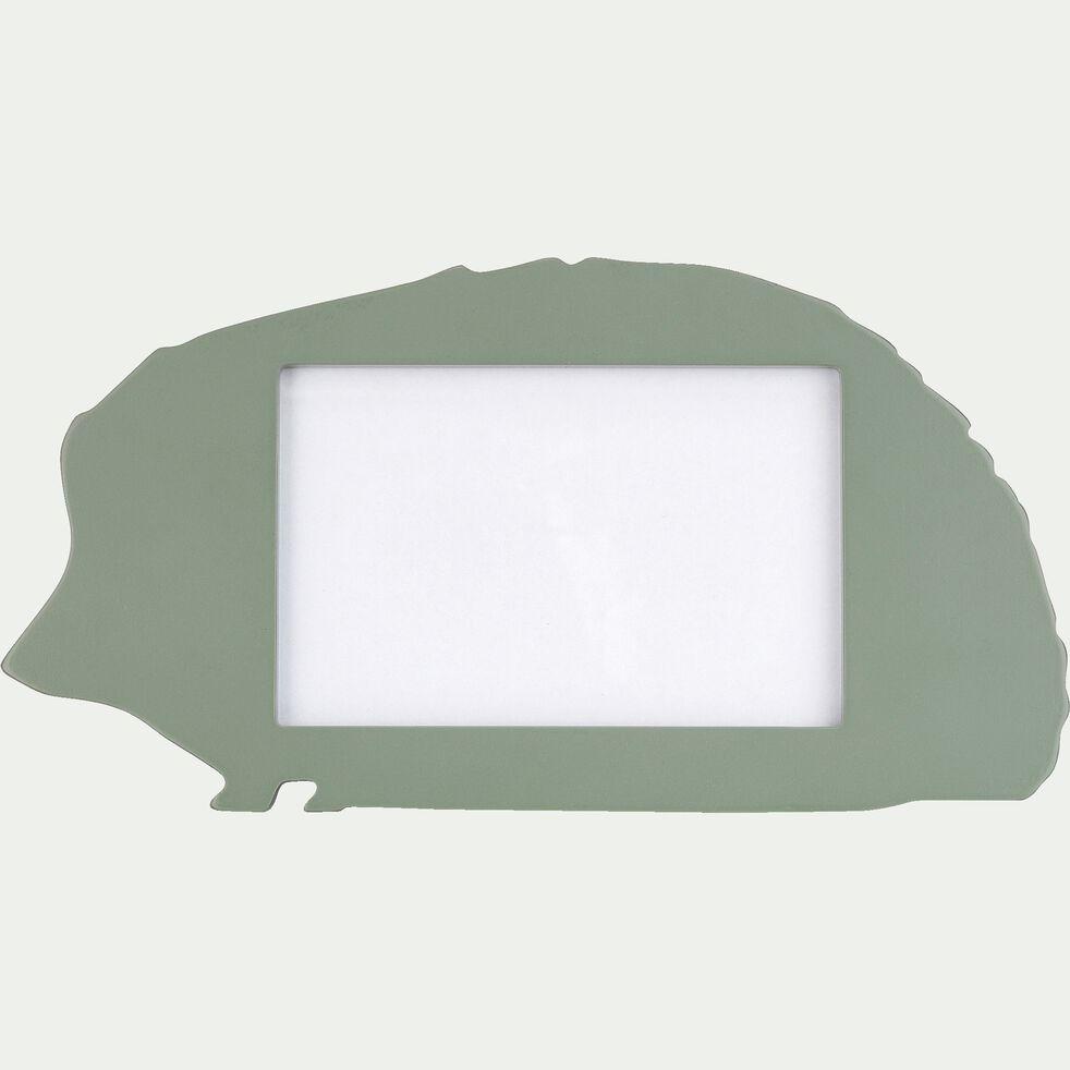 Cadre photo forme hérisson - vert-Besti