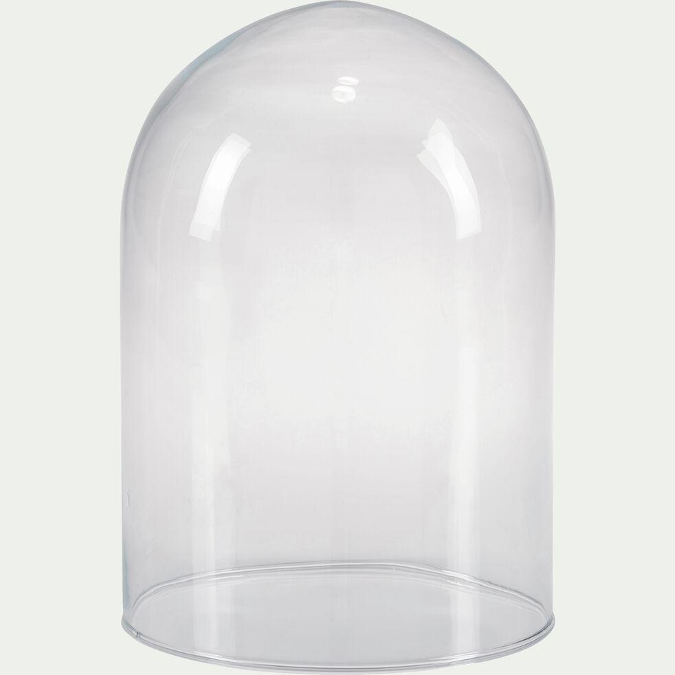 Cloche en verre - transparent D15xH21cm-LAGOA