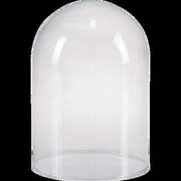 Cloche en verre transparent H21cm-LAGOA
