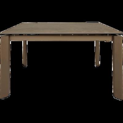 Table à Rallonge Et Extensible Table De Repas De Salle à Manger à