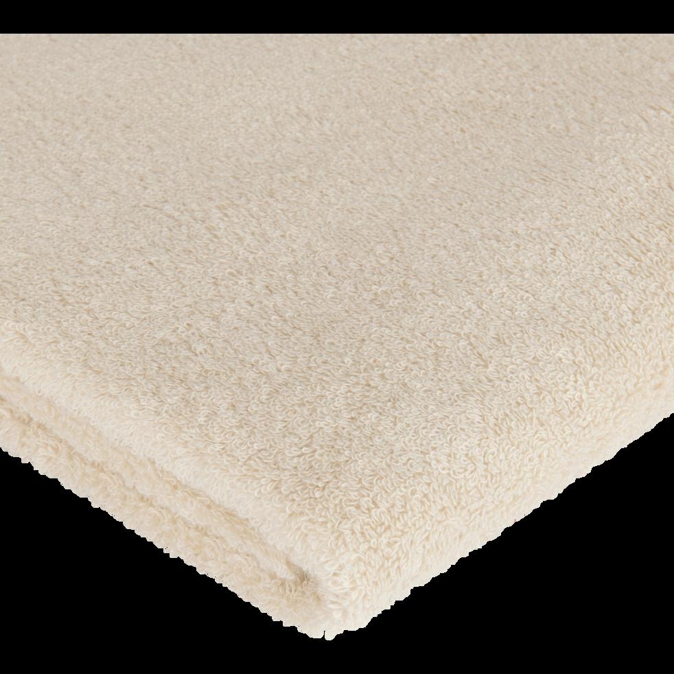 Drap de douche en coton 70x140cm beige roucas-AZUR
