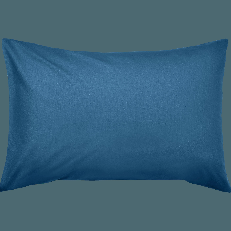 CALANQUES - Taie d'oreiller en coton lavé
