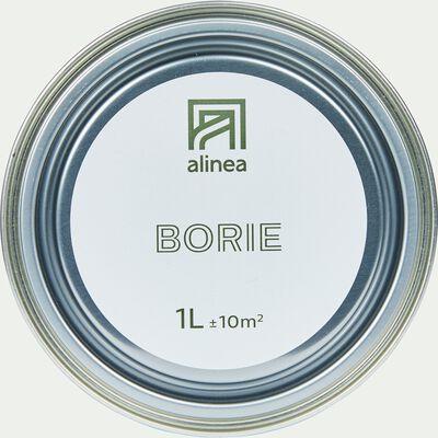 Peinture acrylique mate multi-supports - gris borie 1L-PEINTURE