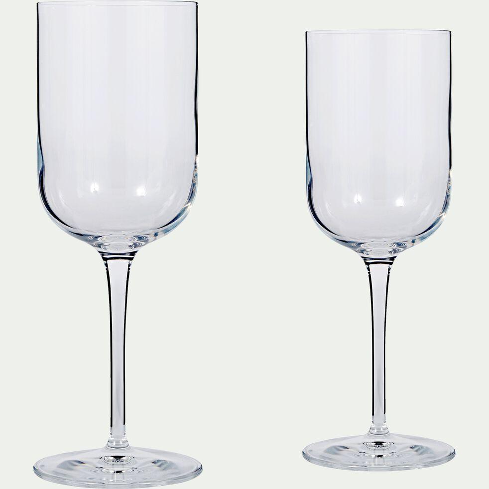 Verre à eau transparent en verre 40cl-SUBLIME