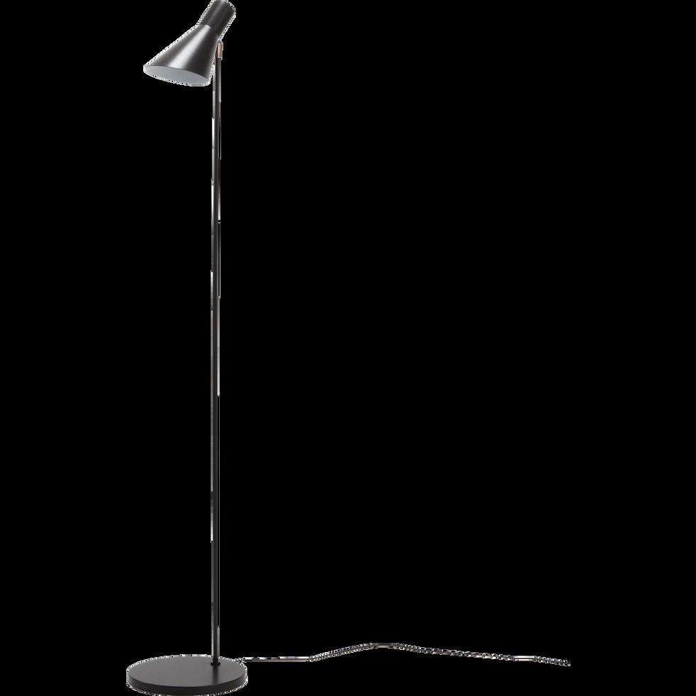 Liseuse En Metal Noir H150cm Elise Lampadaires Droits Et Arcs