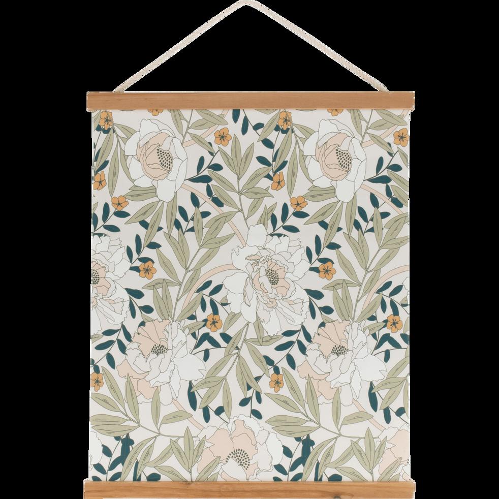 decoration murale kakemono imprime floral arbousier d coration murale enfant alinea. Black Bedroom Furniture Sets. Home Design Ideas