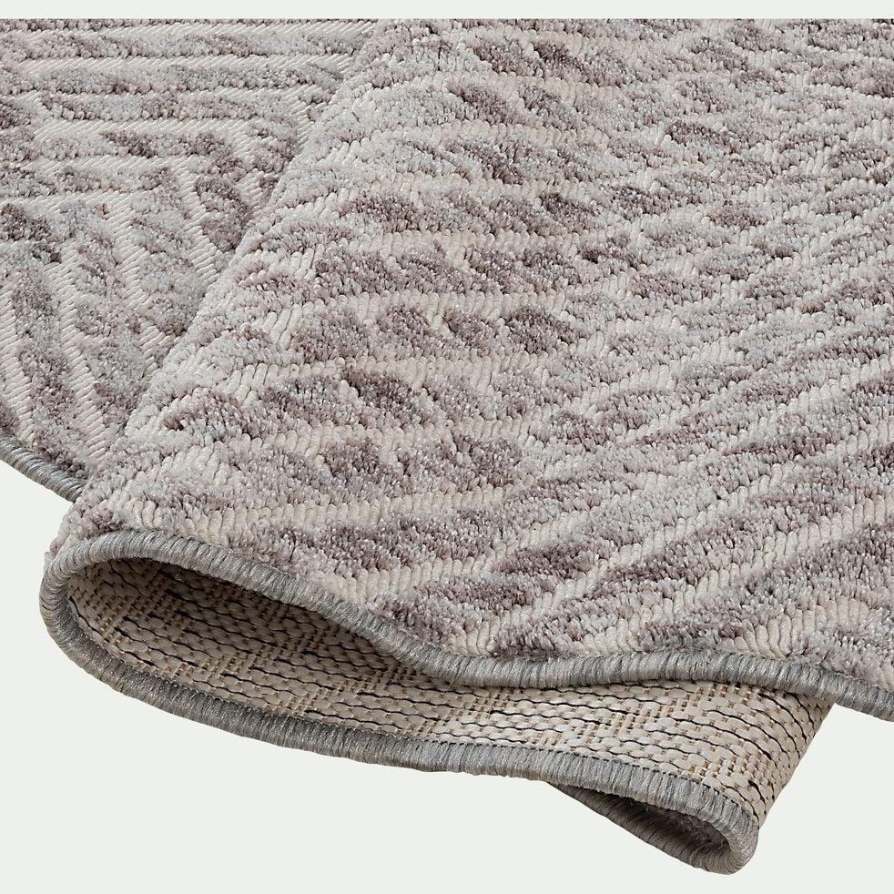 Tapis à motifs abstraits - gris 160x230cm-KEFIR
