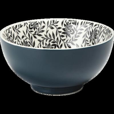 Coupelle en porcelaine bleu figuerolles motifs jasmin D11cm-AIX