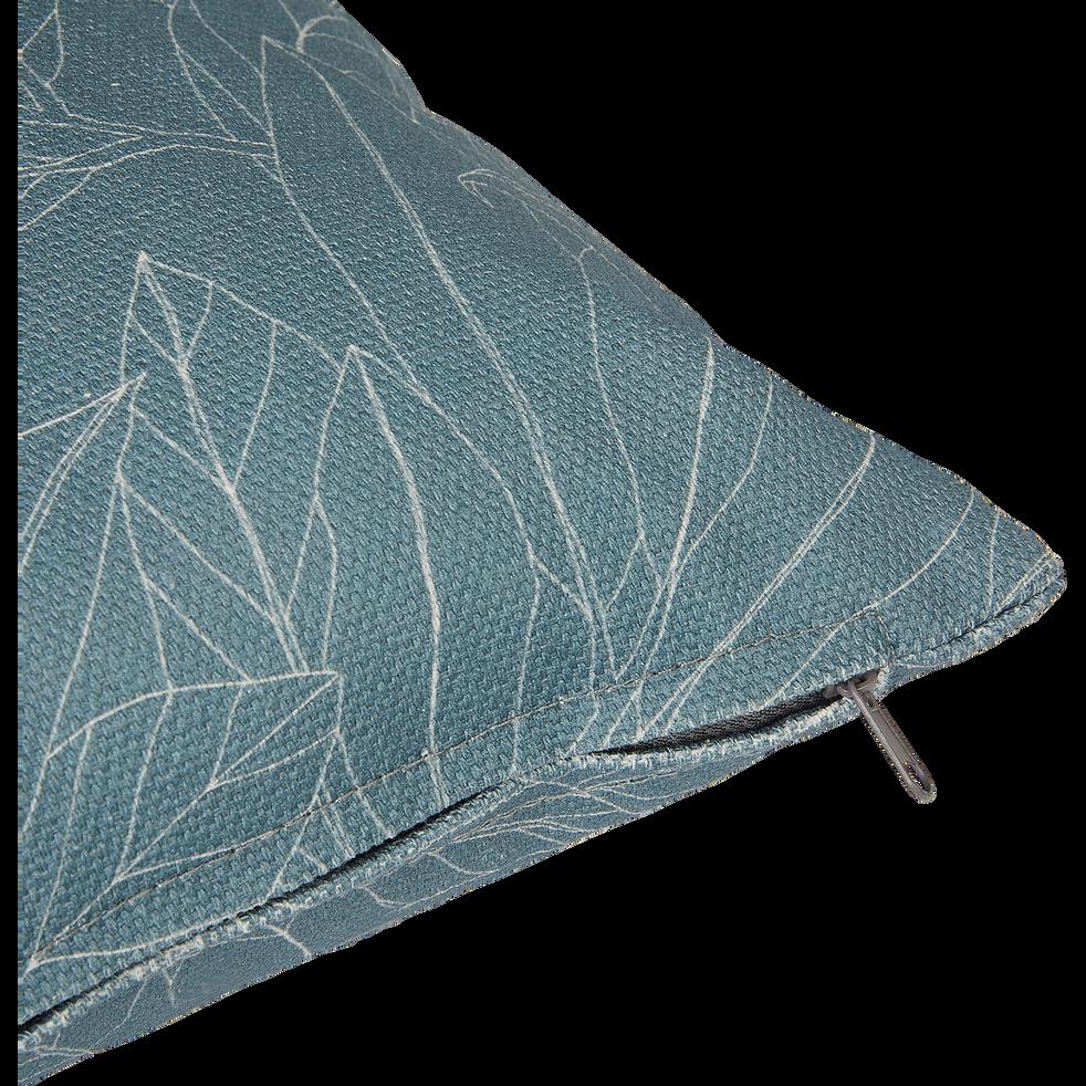 Coussin d'extérieur déperlant bleu figuerolles 40x40cm-Trayas
