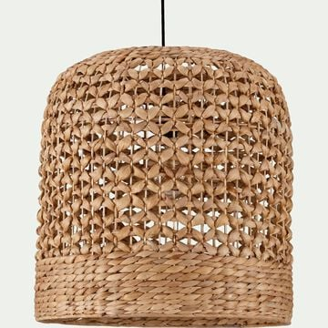 Suspension naturelle en jacinthe d'eau D40xH40cm-VARAGE