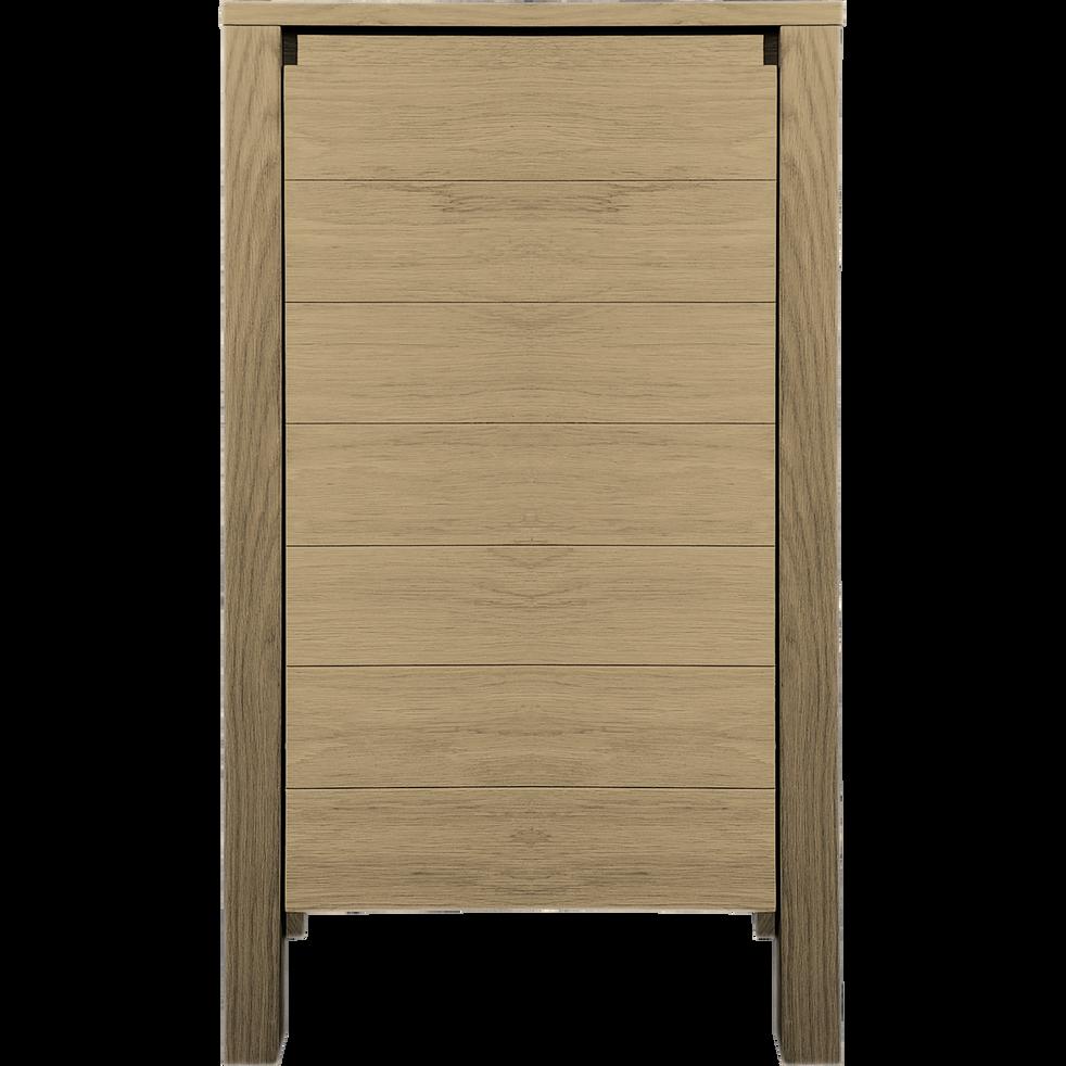 Demi-colonne de salle de bains en chêne 85cm-NATIVE