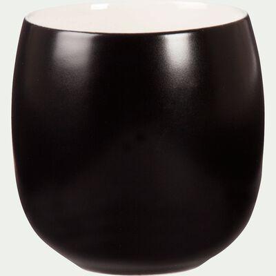 Gobelet à thé en porcelaine noire 17cl-Nilgiri