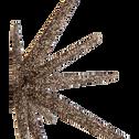 Etoile décorative à poser dorée D11cm-GRACE