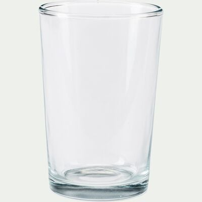 Lot de 6 verres transparents 19cl-OULE