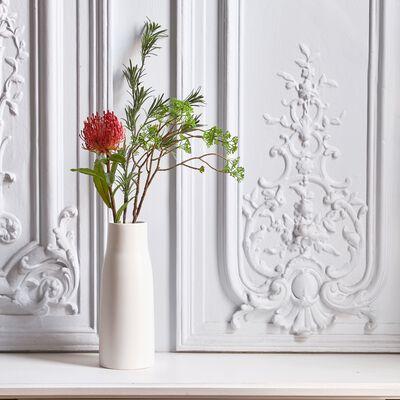 Fleur artificielle trèfle rouge H79cm-PROTEA