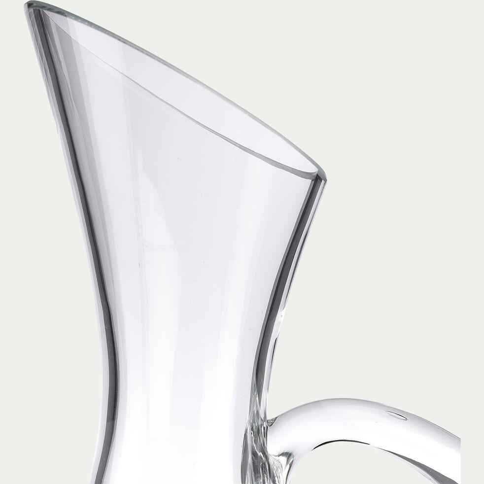 Carafe à décanter en verre transparent 1,6L-BACCHUS
