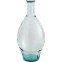 Grand vase en verre transparent h60cm-AJJA