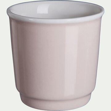 Tasses à expresso - rose grège 9cl-Cafi