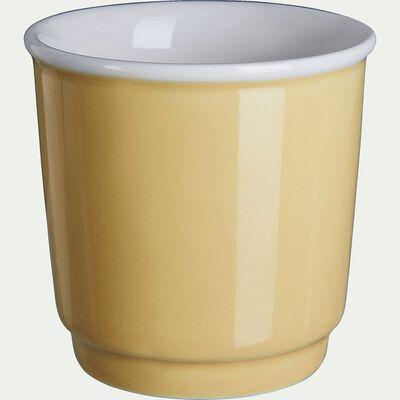 Tasses à expresso - jaune argan 9cl-Cafi